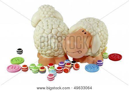 model of sheep