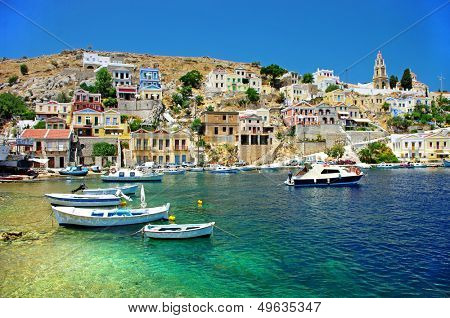 amazing Greece - pictorial island Symi