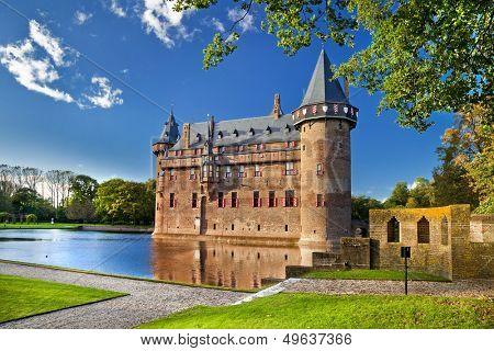 beautiful castle De Haar - Holland