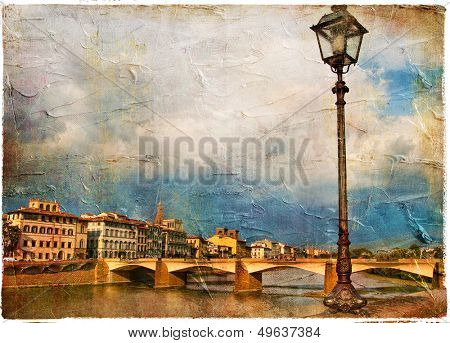 beautiful Florence - cathedral and city view