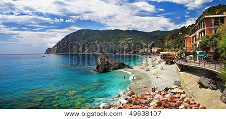 Monterosso - Cinque terre, pictorial Italian riviera series