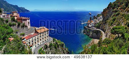 stanning Amalfi coast - Atrani village