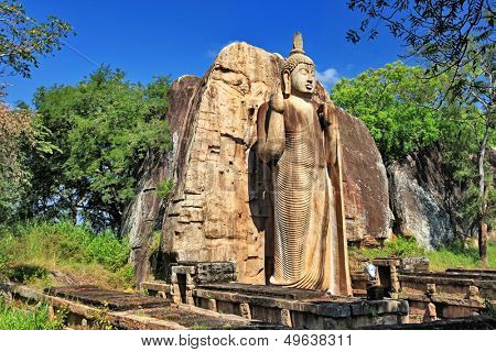 greatest buddhistic landmarks - Awukana , Sri lanka
