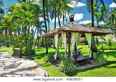 Balinese relaxing holidays