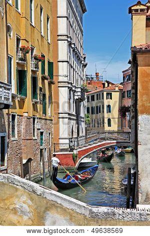 romantic Venetian canals