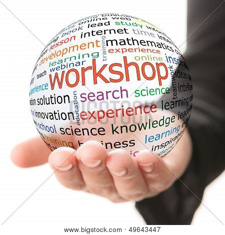 Concept of workshop in business