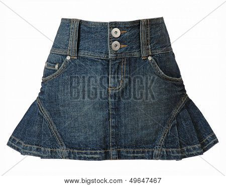 jeans skirt