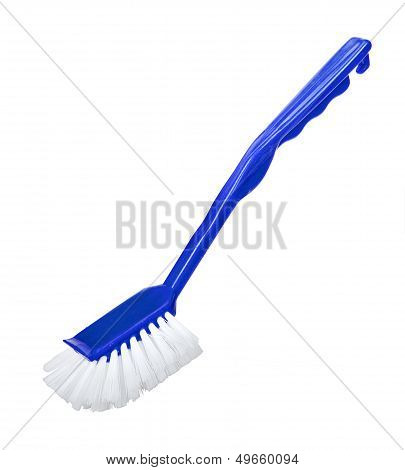 Cleaning Tools Cleaning Brush Isolated On White Background