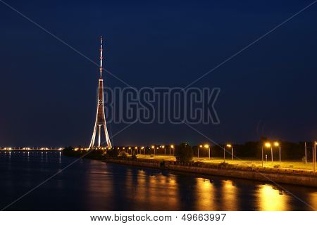 Riga Tv Tower.