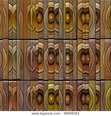 Sliced 3D Sound System Abstract