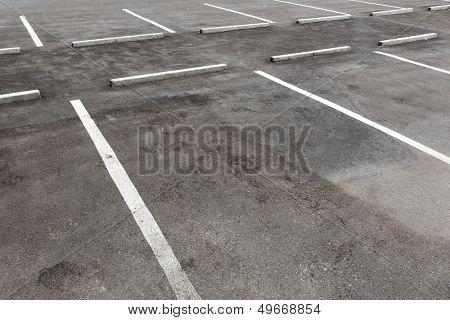 Empty car park