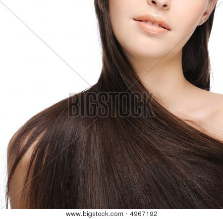 Hermoso cabello largo