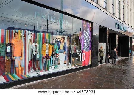 Primark Clothes Store