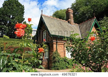 Little House With Roses