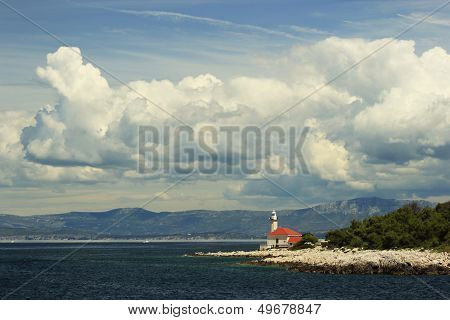 Lighthouse On Brac Island Croatia