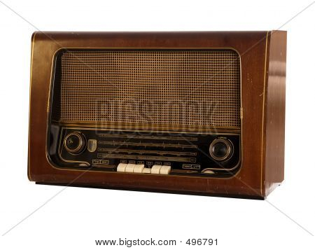 Old Radio (isolated)