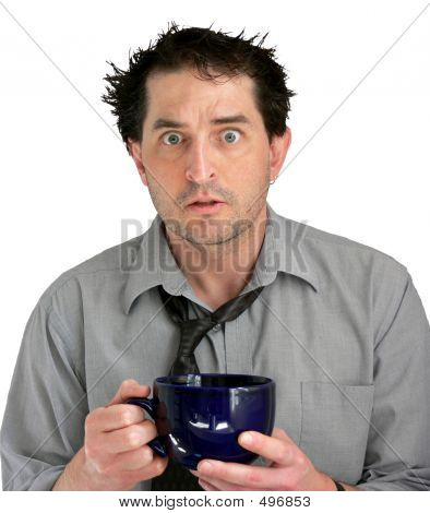 Stressed Coffee Guy