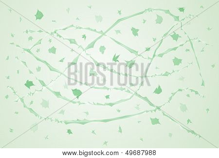 Green Windy Abstraction