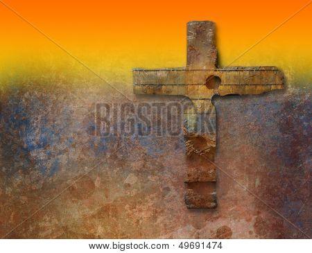 Rusty  Cross