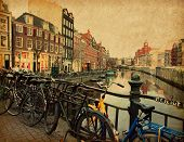 foto of row houses  - Amsterdam - JPG