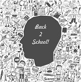 stock photo of tween  - Back to school  - JPG