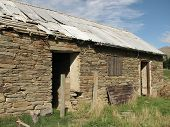 Historic Ruins Of Farmbuilding poster