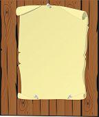 Parchment Cartoon poster