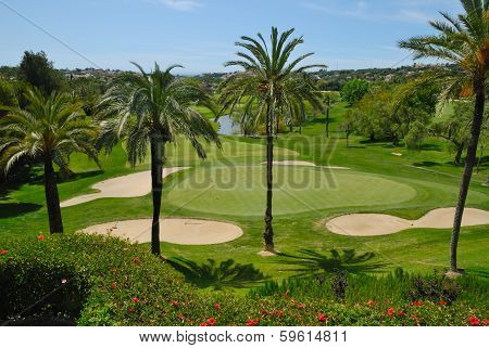 Golf course in Marbella Golf valley