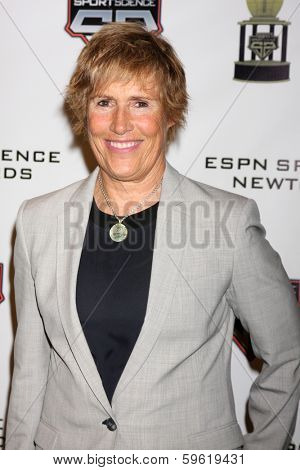 LOS ANGELES  - FEB 9:  Diana Nyad at the ESPN Sport Science Newton Awards at Sport Science Studio on February 9, 2014 in Burbank, CA