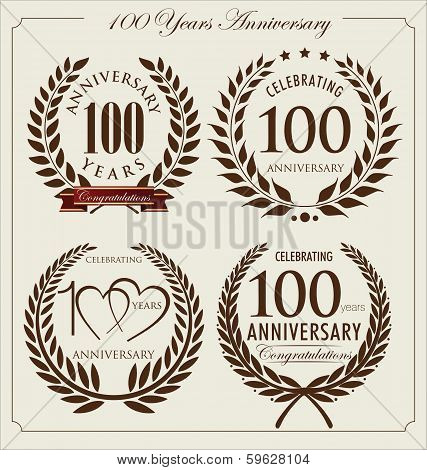 Anniversary Laurel Wreath, 100 Years