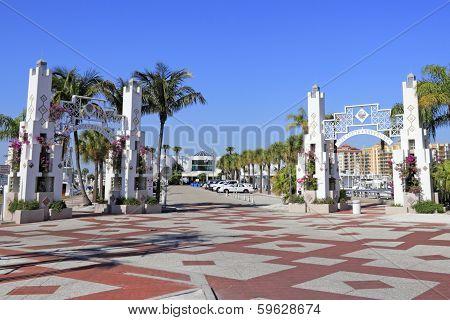 Sarasota Bayfront Entrances