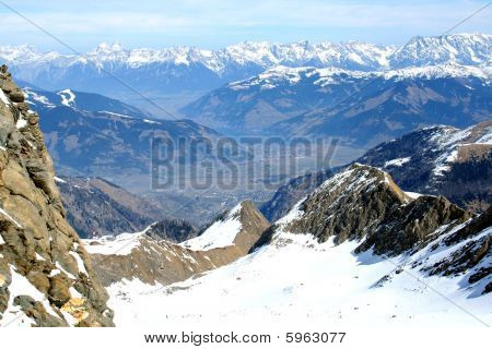 Alps Mountains Landscape