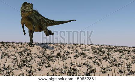 Yangchuanosaurus hunting