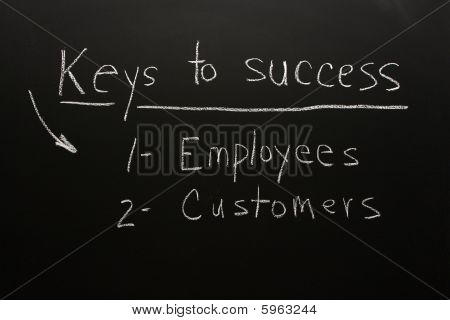 Customers  and Employees are key To Success