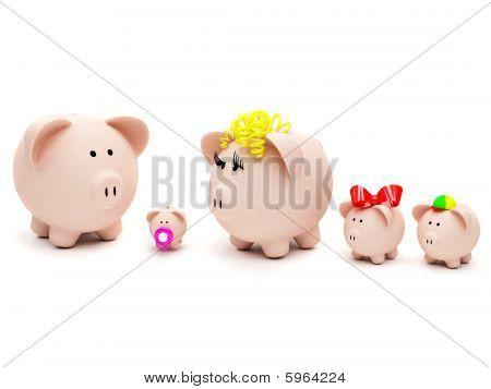 Piggybank Family