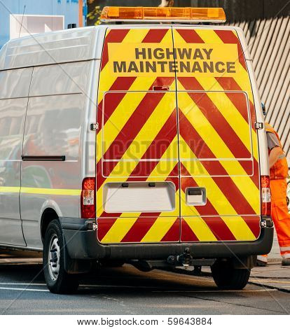 Highway Maintenance Van