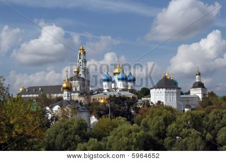 """Monastery Panorama """"troice-sergieva Lavra"""""""