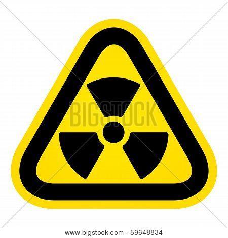 Hazard Radioactivity Sign