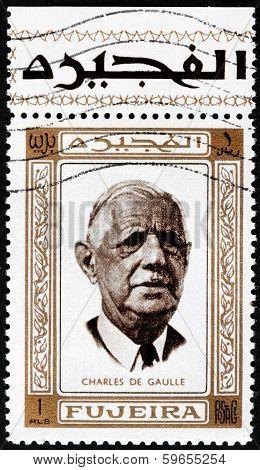 Charles De Gaulle Stamp