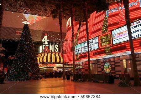 LAS VEGAS - DEC 27: LasVegas hotels and casino on December 27, 2012 in Las Vegas. 2012 hit record number of visitors over 39.7million.