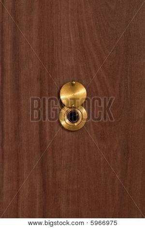 Peep Hole Closeup