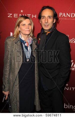 LOS ANGELES - FEB 10:  Alexandre Desplat at the The Hollywood Reporter's Annual Nominees Night Party at Spago on February 10, 2014 in Beverly Hills, CA