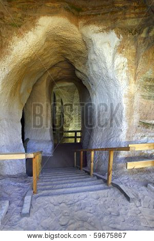Sandstone Caves.