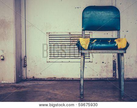 Retro Damaged Chair