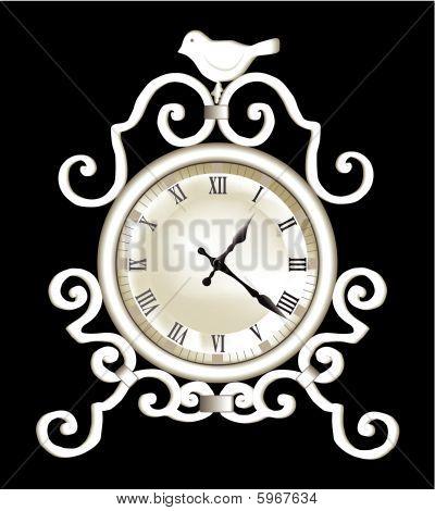 Retro clock.