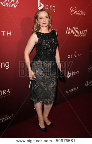 LOS ANGELES - FEB 10:  Julie Delpy at the The Hollywood Reporter's Annual Nominees Night Party at Spago on February 10, 2014 in Beverly Hills, CA