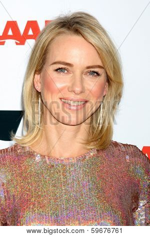 "LOS ANGELES - FEB 10:  Naomi Watts at the AARP ""Movies for Grownups"" Awards at Beverly Wilshire Hotel on February 10, 2014 in Los Angeles, CA"