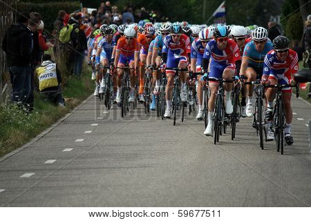 Professional cyclists
