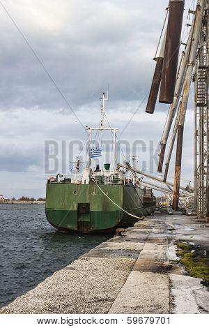 Ship Loading Grain