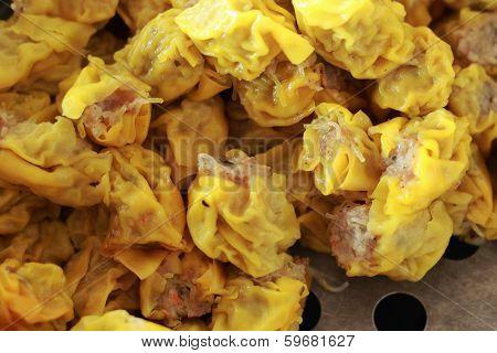 Chinese Steamed Pork Dumplings - Siu Mai